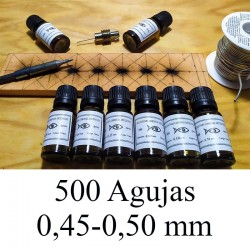 500 AGUJAS 0.45-0.50 mm